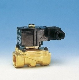 "Jefferson Válvula Solenoide de 2 vías de 1/2"" NPT, 1335BA4AT,120/60-110/50Hz."